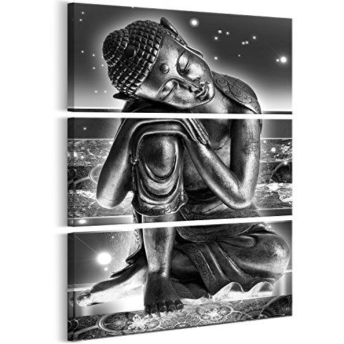 Murando   Cuadro Buda 90x135 cm impresión 3 Piezas