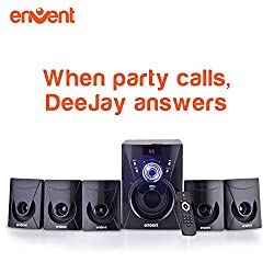 Envent DeeJay 702 BT - Bluetooth 5.1 Multimedia Home Audio Speaker