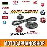 Marchas allungati cadena Malossi Yamaha Tmax Carb. 5004T 2001–20036714757
