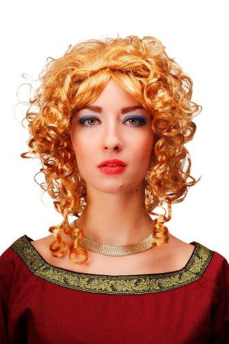 WIG ME UP Karneval Fasching Perücke Blond Prinzessin Königin Mittelalter Barock Gothic Lolita - Gothic Prinzessin Kostüm Perücke