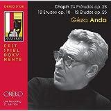 Chopin: 24 Preludes op28, 12 Etudes op10, 12 Etudes op25