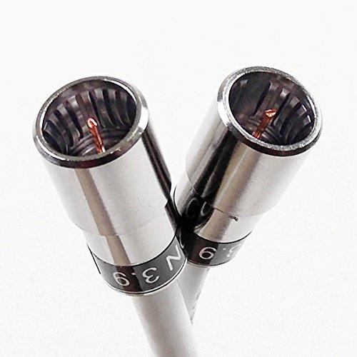 7,5 m F-Quick-Kabelmodem- u. SAT-Receiver-Anschlusskabel mit Cabelcon F-SC-59 CX3 3.9 und Ören HD 083, 3-Fach geschirmt, Klasse A+