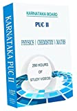 Karnataka PUC II Combo Pack - Physics, Chemistry and Maths Full Syllabus Teaching Video (DVD)