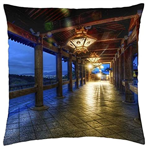 iRocket - Kyoto At Night - Throw Pillow Cover (24