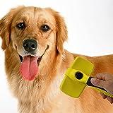 TOOGOO Spazzola per pulizia auto ordinata Pet Sposta efficacemente per spargimento Spazzola per cani professionale per animali domestici Cani e gatti, con capelli corti o lunghi - giallo
