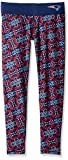 Klew NFL Damen Thematische Print Leggings, Damen, New England Patriots Thematic Print Legging Small, New England Patriots, Small