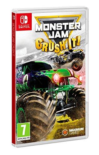 Monster Jam: Crush It! (Nintendo Switch) (UK Import) - Monster Spiele Jam