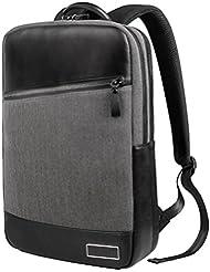 """WIWU 15 Zoll für MacBook 15,4"""" Damen Herren Rucksack Business Backpack Laptop Tasche Daypack Tagesrucksack zur Arbeit und Uni Slim Eleganter Stil (Grau, 15,4 Zoll)"""
