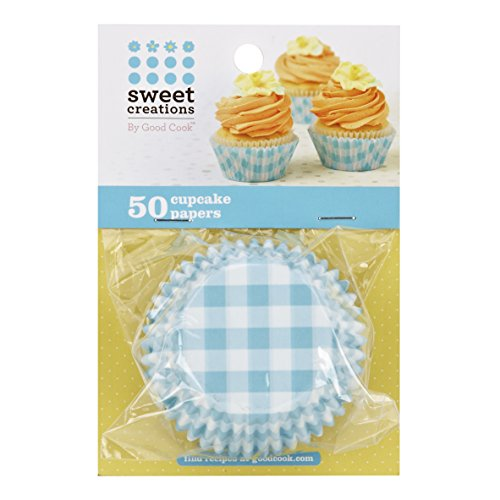 ount Easter Baking Cup Cupcake Papers, Gingham, Blue ()