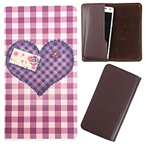DooDa - For Karbonn S6 PU Leather Designer Fashionable Fancy Case Cover Pouch With Smooth Inner Velvet