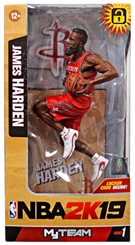 McFarlane NBA 2K19 James Harden Houston Rockets Action Figur (18 cm)