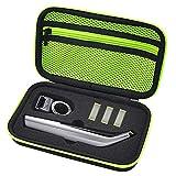 Custodia per Philips OneBlade Pro QP6520, QP6510, Custodia rigida in EVA Cover protettiva per One Blade Pro (Yellow)