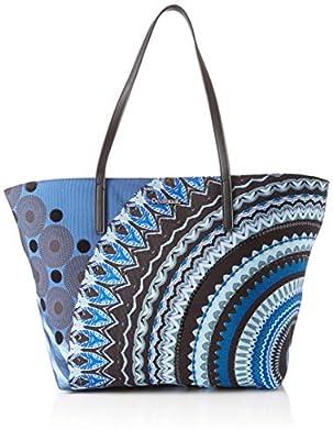 Bolso Mujer Desigual Blue Friend Sicilia Blue Indigo de DESIGUAL
