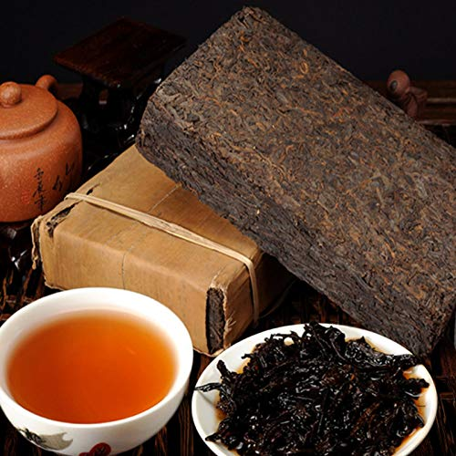 Hecho en China PuEr Tea 250g (0.55LB) Té negro de alta calidad Older Puerh Tea Pu'er té Té chino Pu er tea Té maduro Pu-erh té Comida verde Árboles viejos Pu erh té té cocido Té rojo