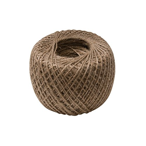 Silverline 795597 - Hilo de yute natural 250 m