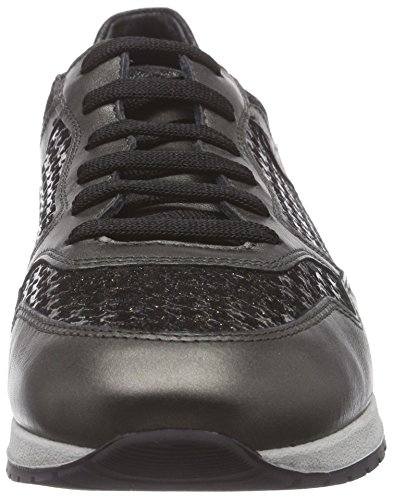 Mephisto NINIA PERLKID 10194/PA.18800/F.26600 KAKI, Low-Top Sneaker donna Grigio (Grau (PERLKID 10194/PA.18800/F.26600))