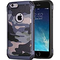 JAMMYLIZARD | Cover custodia Heavy Duty ARMY in TPU per iPhone 6 e 6s, (Army Camouflage Pattern)