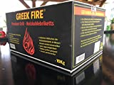 10 kg Greek Fire Profi-Holzkohlebriketts