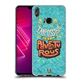 Head Case Designs Adventurous 8 Bit Inspirationen Soft Gel Hülle für Huawei Honor View 10 Lite
