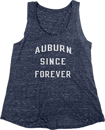 Auburn Damen T-shirt (Blue 84 NCAA Auburn Tigers Damen Konfetti-Tulpen-Tankshirt, Größe M, Marineblau)