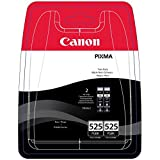 Canon PGI-525 Inkjet Cartridge Page Life 656pp Black Ref 4529B006 [Twin Pack]