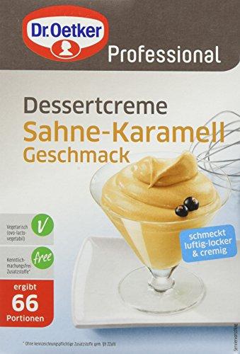 Dr. Oetker Professional Dessertcreme Sahne-Karamell-Geschmack, ehemals Paradiescreme, 1 kg