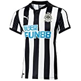 Puma Newcastle Home Replica Football Shirt with Sponsor Logo Men's T-Shirt, Men, Newc...