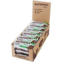HAFERVOLL Flapjack, Protein Walnuss mit 16% Protein, ohne Zusatzstoffe, 100% natürlicher Müsliriegel, wenige Zutaten, 18 x 58g