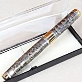 #6: Giftacrossindia Om Ganesha Embboss Roller Ball Pen Collection
