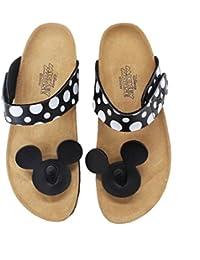 Disney Mickey Mouse Dote Chanclas Comfort Sandalias planas