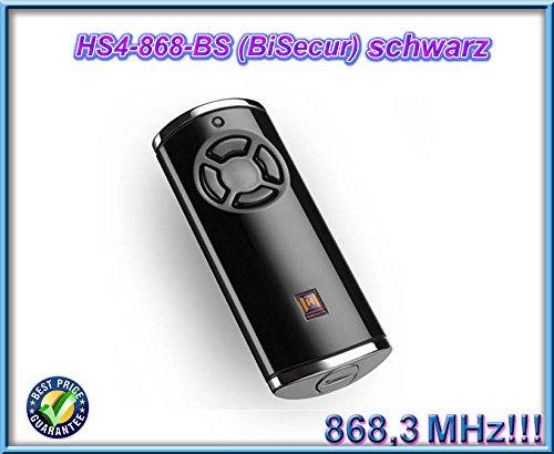 Preisvergleich Produktbild Handsender Hörmann HS 4 BS - BiSecure - 868MHz - Schwarz