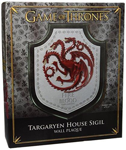 Juego de tronos Escudo Targaryen House Crest 30 cm