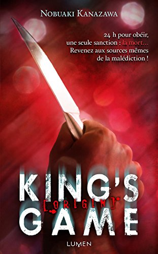 King's Game Origin par Nobuaki Kanazawa