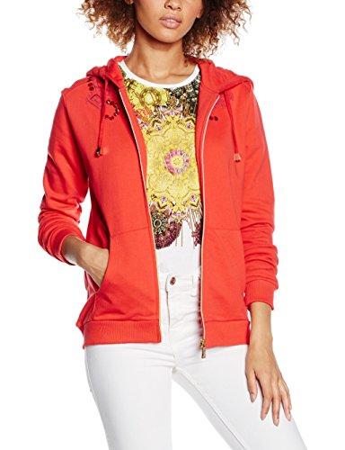 Versace Jeans - EB6HNB765_E36112, Felpa da donna, rosso, L
