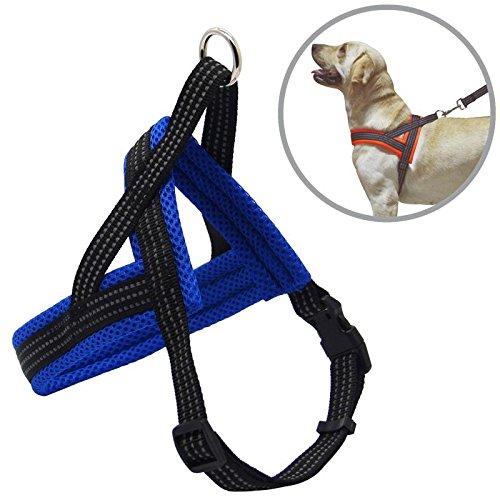 BPS® Arnés Correa Perros Mascotas Collar Ajustable