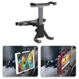 Car Headrest Mount, POMILE 360�Adjustable Car Seat Headrest Mount Holder for Portable DVD Player, 7-12 Inch iPad Pro/iPad Air/iPad Mini, Tablets, Samsung Galaxy Tab, Kindle Fire (7-12 Inch(1 Pack))