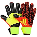 Adidas Ace Trans Climawarm- Guanti da portiere, per adulti, Unisex, Torwarthandschuhe ACE Trans Climawarm, solar red/Black/Solar yellow, 12