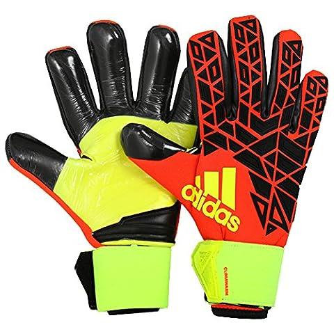 adidas Erwachsene Ace Trans Climawarm Torwarthandschuhe, Solar Red/Black/Solar Yellow, 12