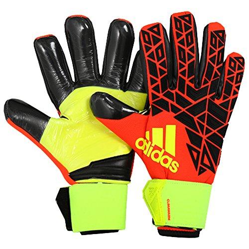 adidas Erwachsene Ace Trans Climawarm Torwarthandschuhe, Solar Red/Black/Solar Yellow, 10.5