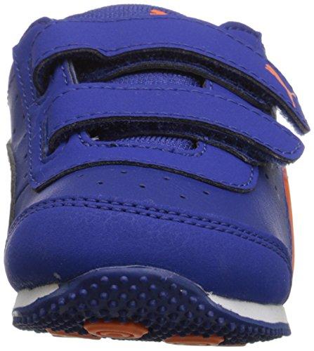 Puma Speed Light-Up Cuir Baskets Mazarin Blue/Vibrant
