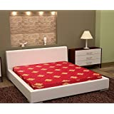 Story@Home Premium 4-inch King Size Foam Mattress (Maroon, 75x72x4)