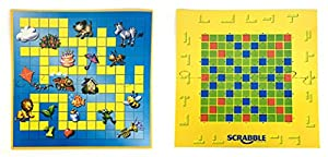 JOYTO Scrabble Junior Kids Words Building Board Game