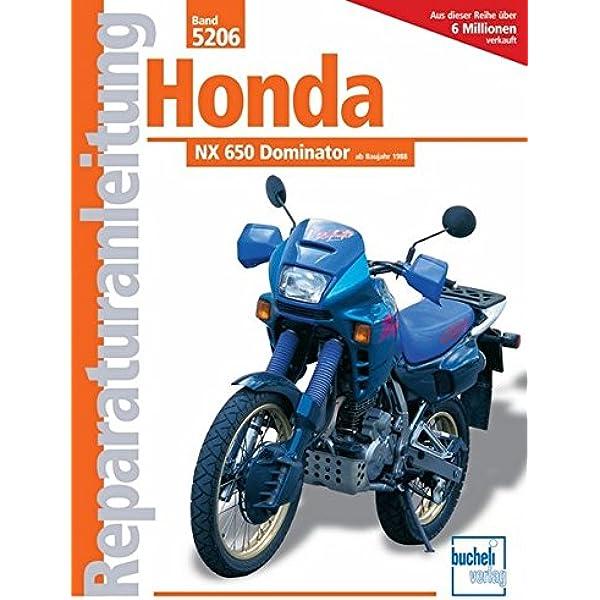 Honda NX 650 Dominator ab Baujahr 1988: Amazon.es: Libros ...