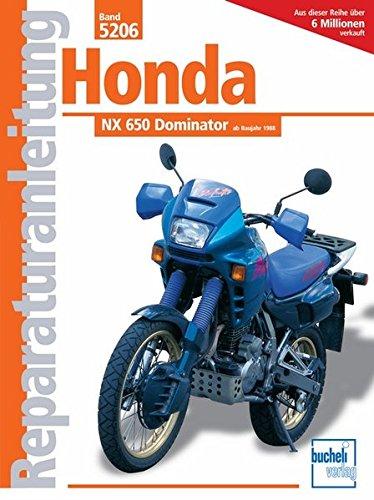 Honda NX 650 Dominator (Reparaturanleitungen)
