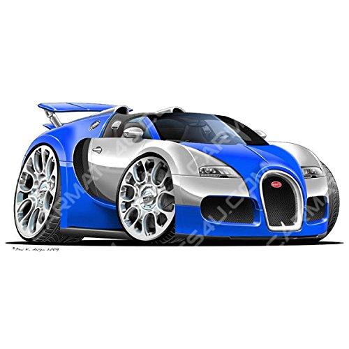 bugatti-veyron-spider-vinyl-wall-art-sticker-silver-blue