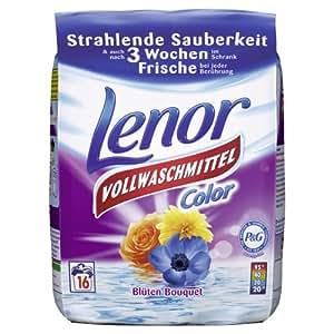 Lenor Waschmittel Pulver Color - 16WL, 3er Pack (3 x 1.28 kg)
