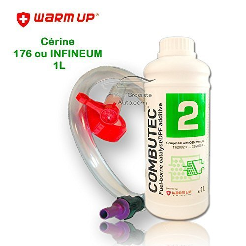 Aditivo FAP Carter 176 o INFINEUM 7995 Verde kit llenado Cálidos Up Combutec 2 1 Litros