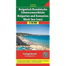 Freytag Berndt Autokarten, Bulgarisch Rumänische Schwarzmeerküste - Maßstab 1:150.000
