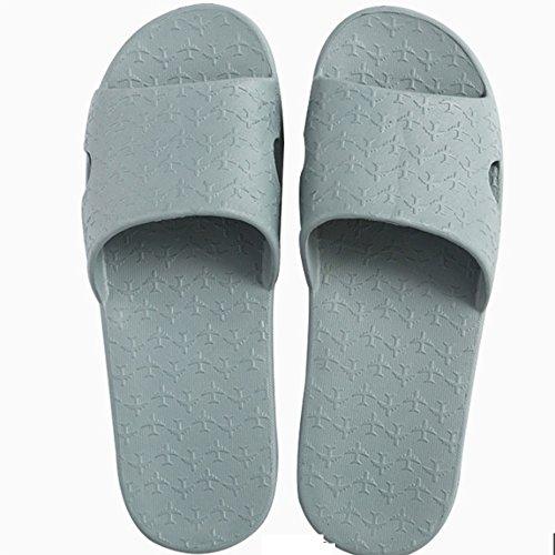 Pantofole estraibili estive Trascinate i pantofole antisdrucciolevoli del pantofole Portable pattini di parola delle signore Le coppie fredde delle signore (2 colori opzionali) (formato facoltativo) ( B
