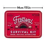 Gentlemen's Hardware Festival Survival Kit, Red, One Size